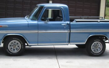 1972 Ford F100 2WD Regular Cab for sale 100988904