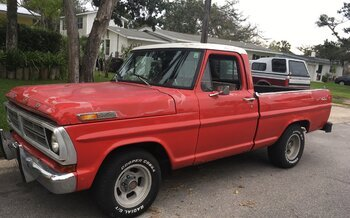 1972 Ford F100 2WD Regular Cab for sale 100989140