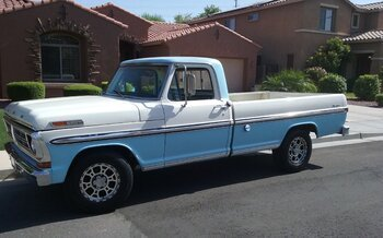 1972 Ford F100 2WD Regular Cab for sale 100989804