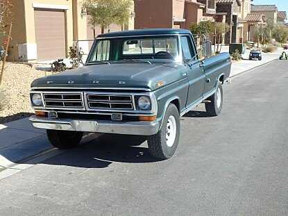 1972 Ford F250 for sale 100760009