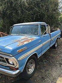 1972 Ford F250 2WD Regular Cab Super Duty for sale 101008032