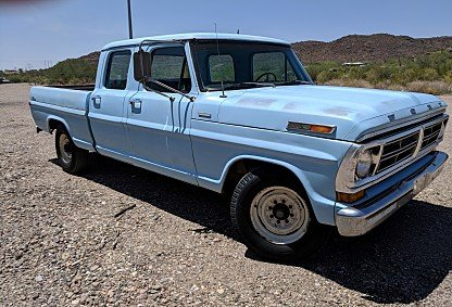 1972 Ford F250 2WD SuperCab for sale 101024944
