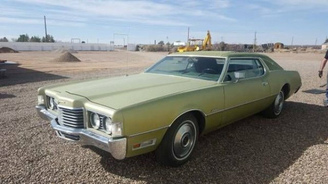 1972 Ford Thunderbird for sale 100962235
