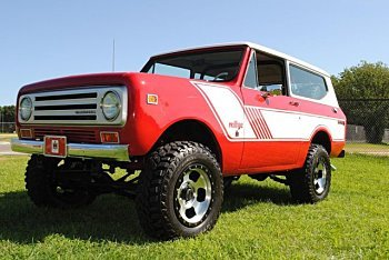 1972 International Harvester Scout for sale 101031035