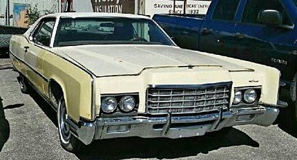 1972 Lincoln Continental for sale 100826623
