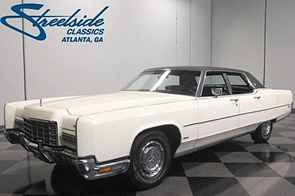 1972 Lincoln Continental for sale 100970242
