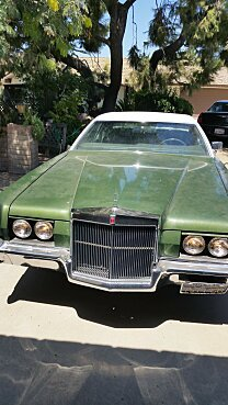 1972 Lincoln Mark IV for sale 100844593