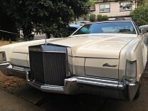 1972 Lincoln Mark IV for sale 100908329