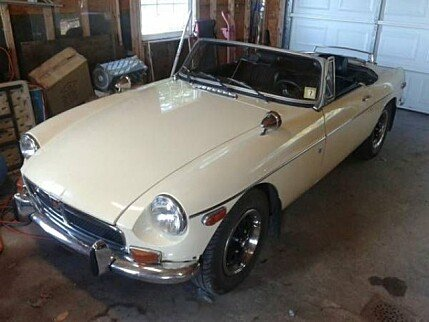 1972 MG MGB for sale 100837220
