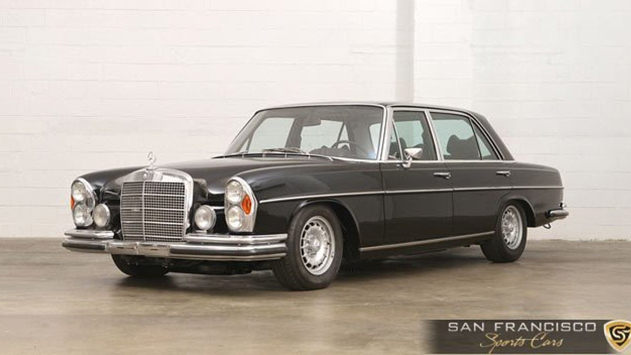 1972 mercedes benz 300sel for sale near san carlos for Mercedes benz auction