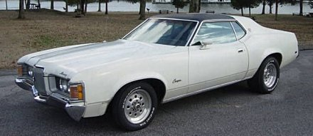 1972 Mercury Cougar for sale 100843939