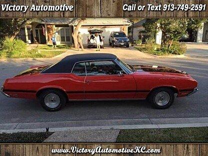 1972 Oldsmobile Cutlass for sale 100752212