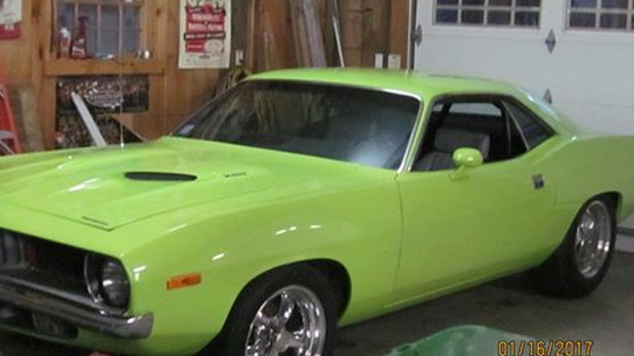 1972 Plymouth Barracuda for sale 100843223