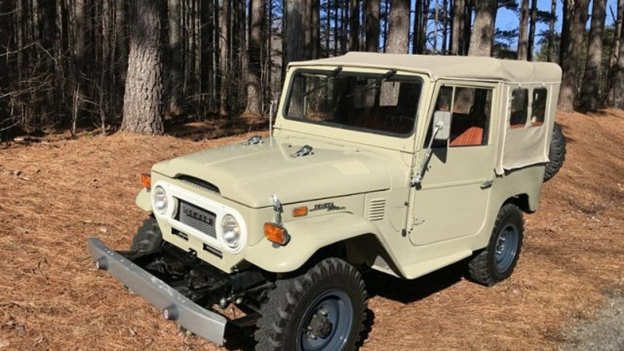 1972 Toyota Land Cruiser for sale 100991674