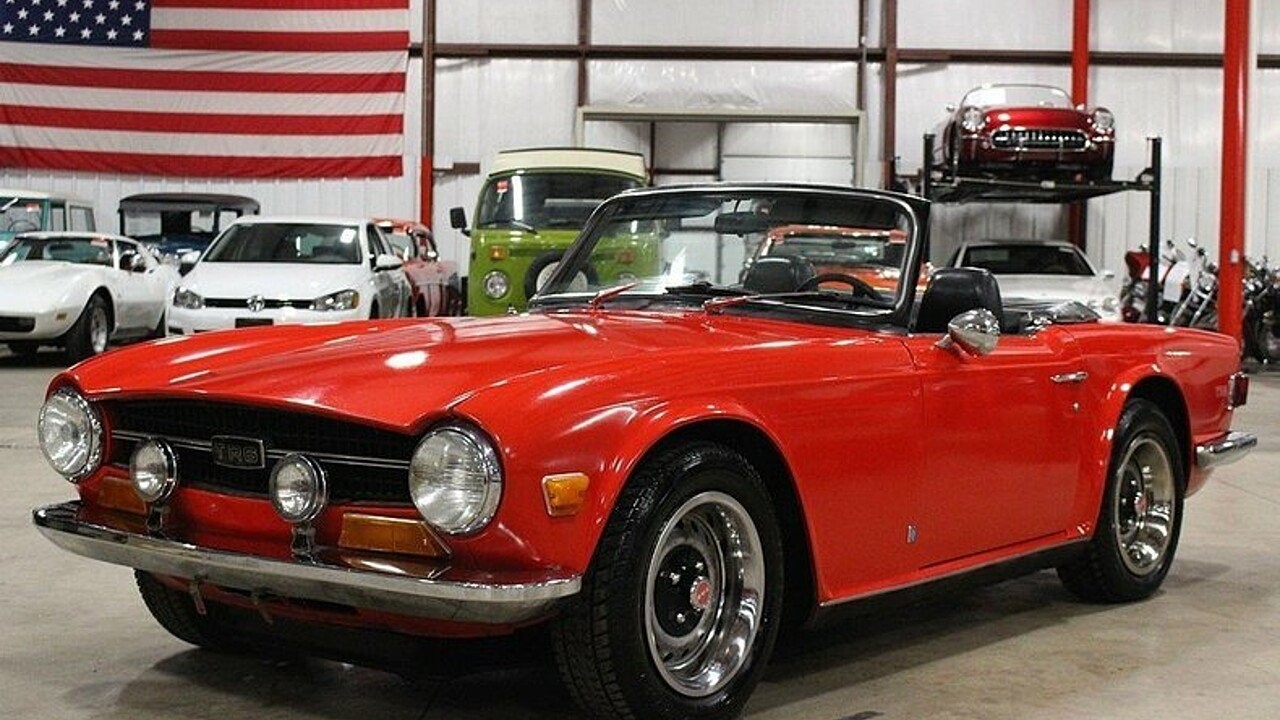 1972 Triumph TR6 for sale near Grand Rapids, Michigan 49512 ...