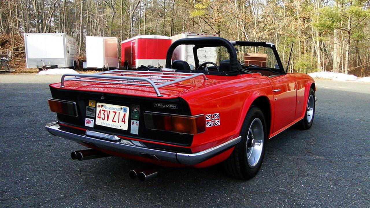1972 Triumph TR6 for sale near Beverly, Massachusetts 01915 ...