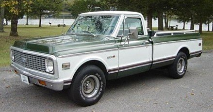 1972 chevrolet C/K Truck for sale 100923716