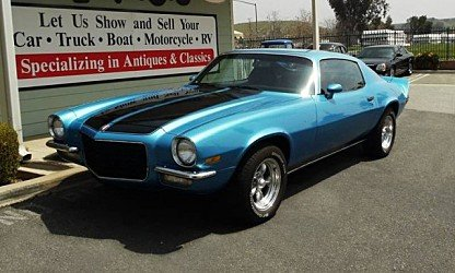 1972 chevrolet Camaro for sale 100975065