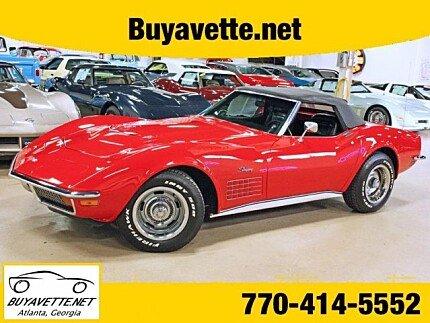 1972 chevrolet Corvette for sale 100903507
