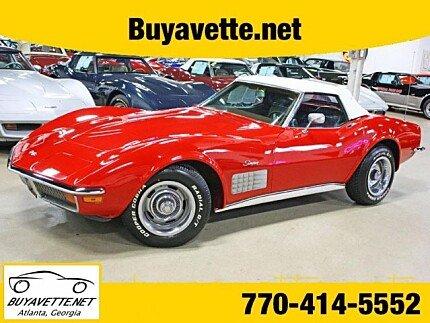 1972 chevrolet Corvette for sale 100962138