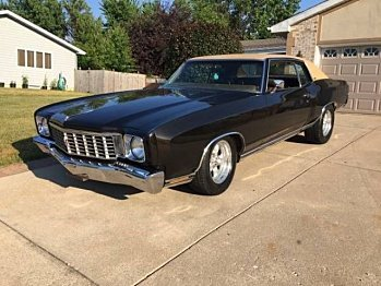 1972 chevrolet Monte Carlo for sale 100826572