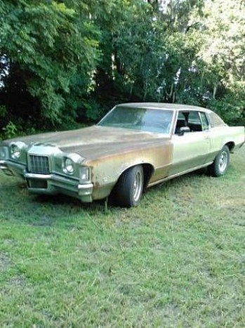 1972 pontiac Grand Prix for sale 100826521