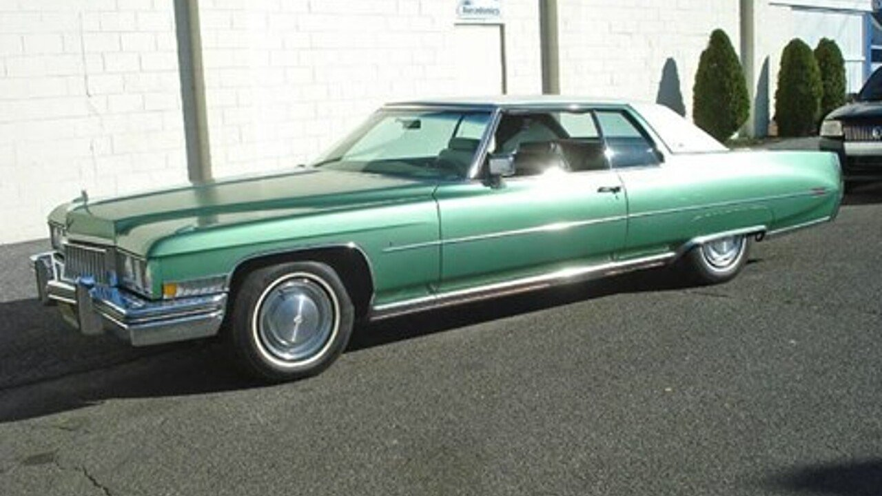 1973 Cadillac De Ville for sale 100796107