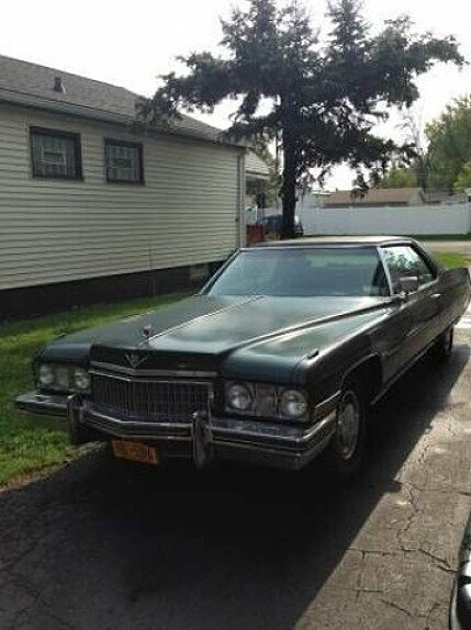 1973 Cadillac De Ville for sale 100826632