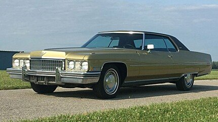 1973 Cadillac De Ville for sale 100894523