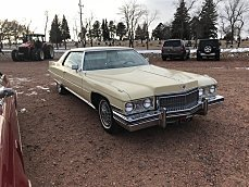 1973 Cadillac De Ville for sale 100942892