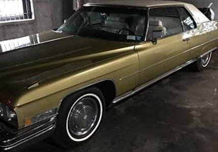 1973 Cadillac De Ville for sale 100951350