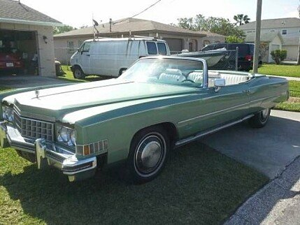 1973 Cadillac Eldorado for sale 100826482