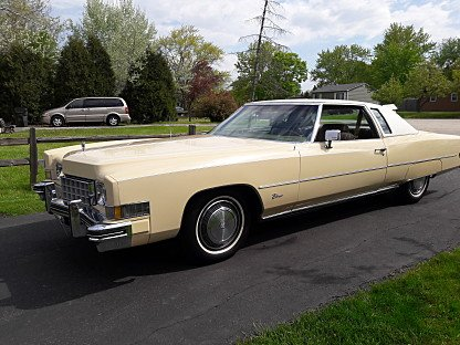 1973 Cadillac Eldorado Coupe for sale 100871796