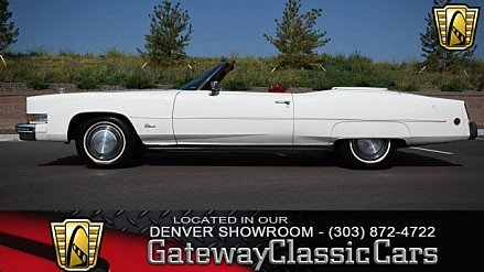 1973 Cadillac Eldorado for sale 100963825