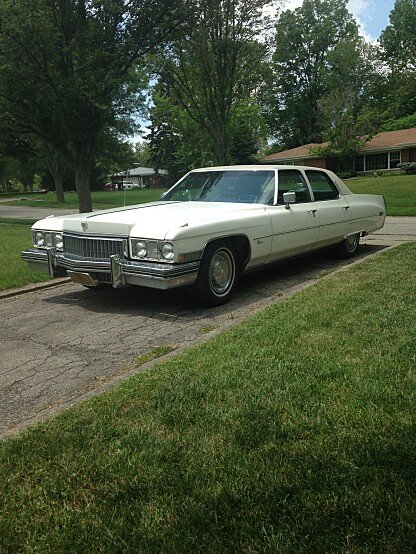 1973 Cadillac Fleetwood for sale 100772275