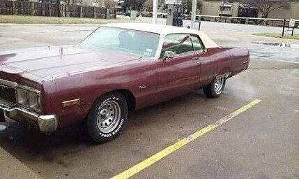 1973 Chrysler Newport for sale 100942790