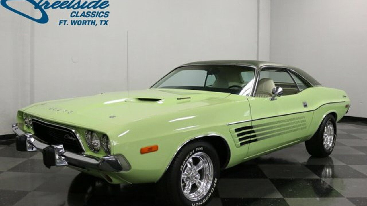 1973 Dodge Challenger for sale near Fort Worth, Texas 76137 ...