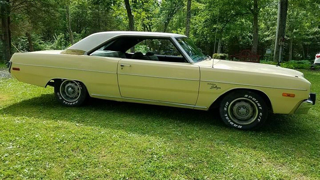 1973 dodge dart for sale near cincinnati ohio 45239. Black Bedroom Furniture Sets. Home Design Ideas