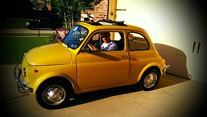 1973 FIAT 500 for sale 100848276