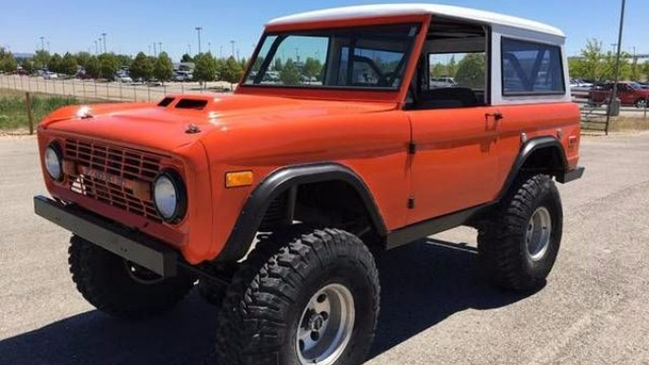 1973 Ford Bronco for sale 100907401