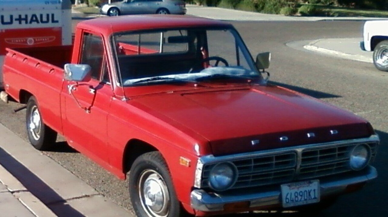Image result for red ford courier