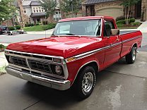 1973 Ford F100 2WD Regular Cab for sale 100963159