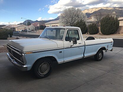 1973 Ford F100 2WD Regular Cab for sale 100973991