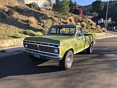 1973 Ford F250 2WD Regular Cab for sale 100962371