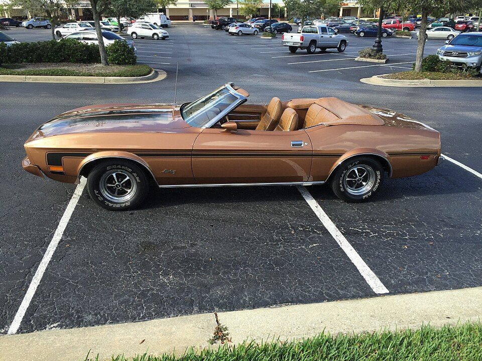 1973 ford mustang for sale near lake mary florida 32746 classics on autotrader. Black Bedroom Furniture Sets. Home Design Ideas