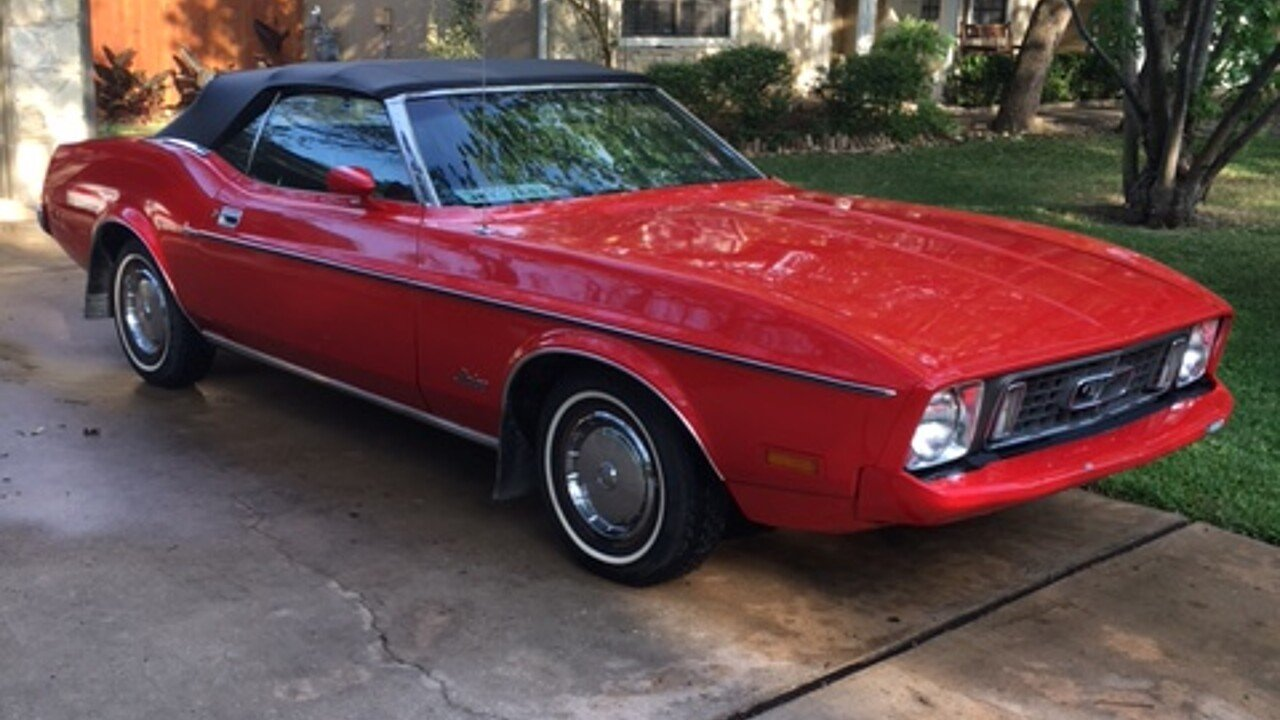 1973 Ford Mustang Convertible for sale 100873653