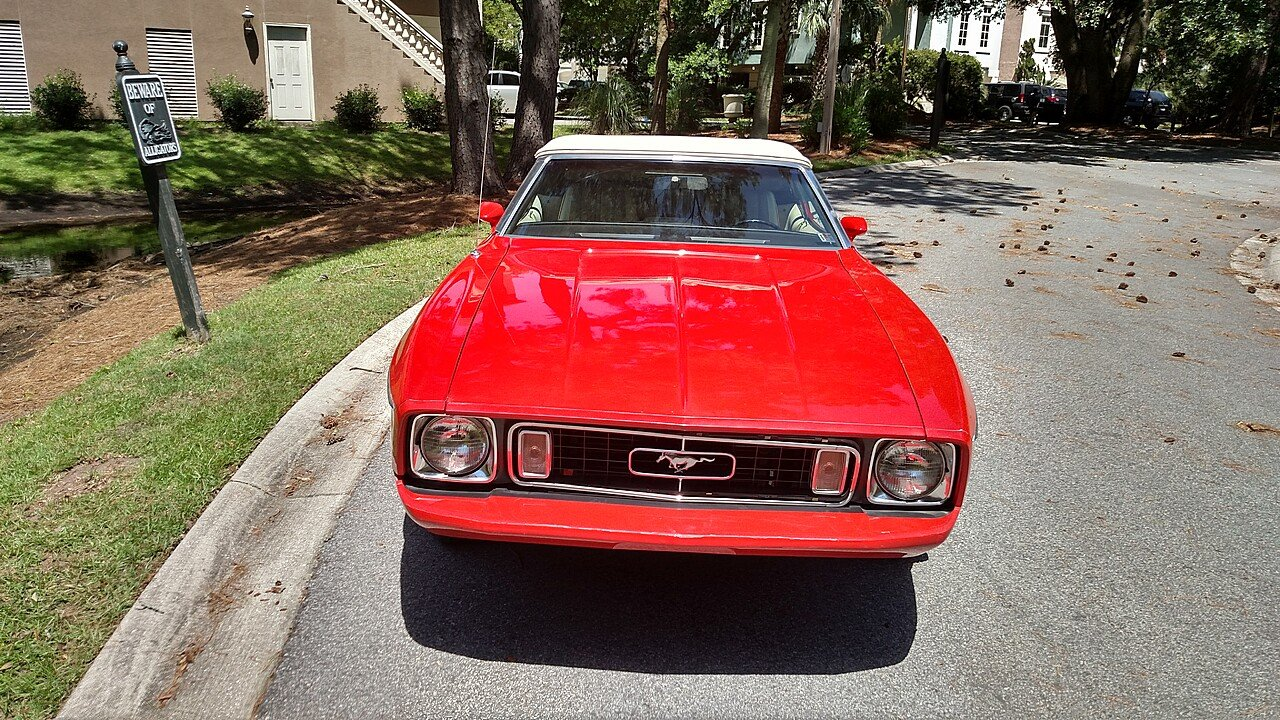 1973 Ford Mustang Convertible for sale 100884515
