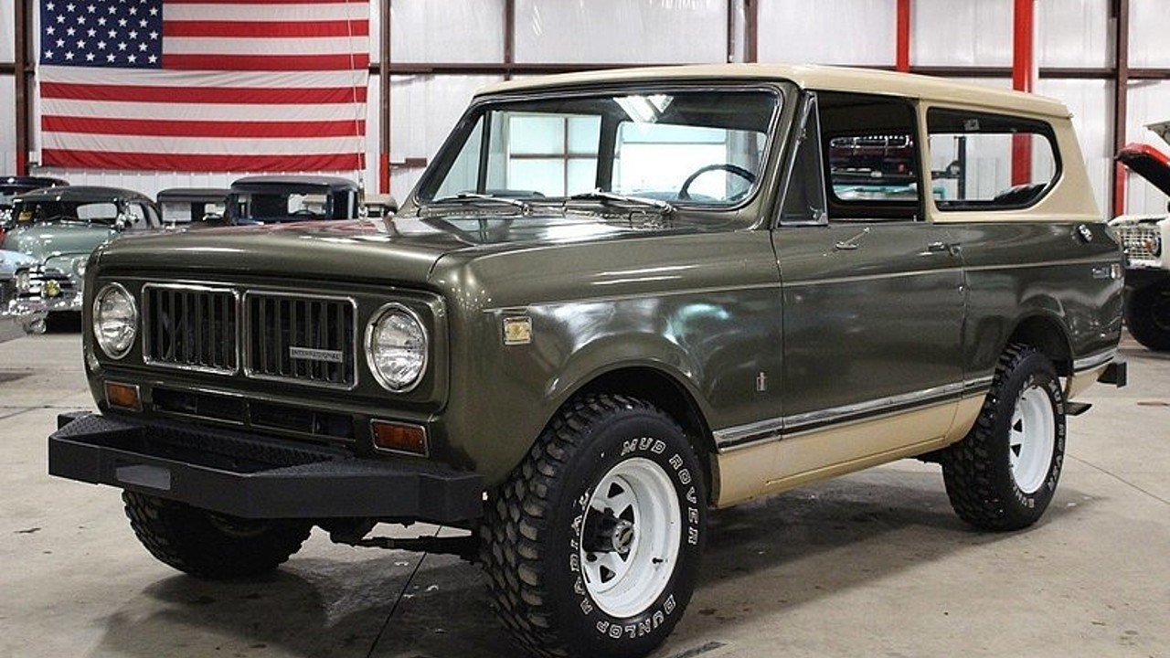 International Harvester Scout Classics for Sale - Classics on ...