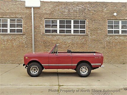 1973 International Harvester Scout for sale 100894267