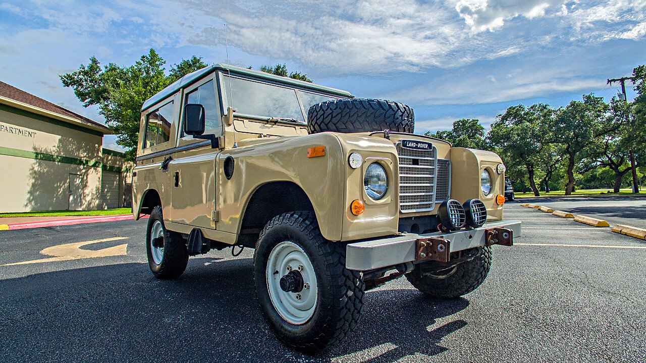 1973 land rover series iii for sale near hollywood park texas 78232 classics on autotrader. Black Bedroom Furniture Sets. Home Design Ideas